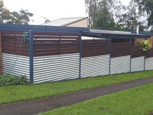 Horizontal Decking Amp Privacy Screens Anderson Fencing
